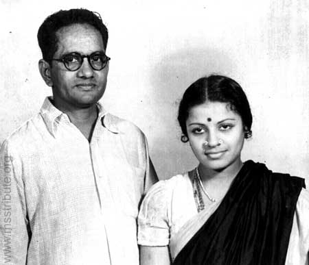An Early Picture of MS and Sadasivam